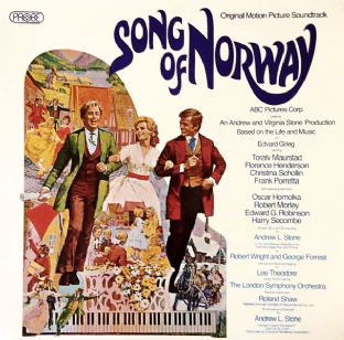 V/A ‎- Song Of Norway: Original Motion Picture Soundtrack (LP) (EX+/EX+)
